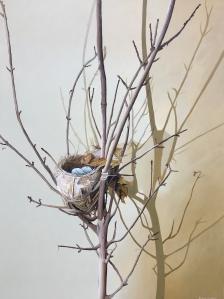 Bird's Nest 36 x 48 SOLD