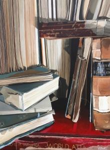 pile of books 36 x 48 $4900