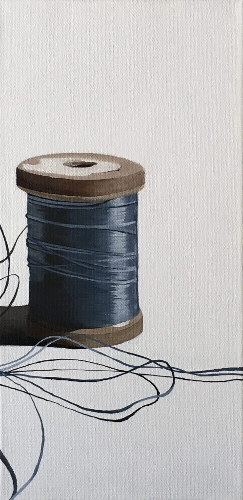 Spool of Thread painting