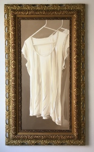 "Shirt 51"" x 29"" with frame $2900"