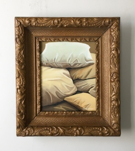 Pile of Pillows. 14 x 16 with frame. SOLD