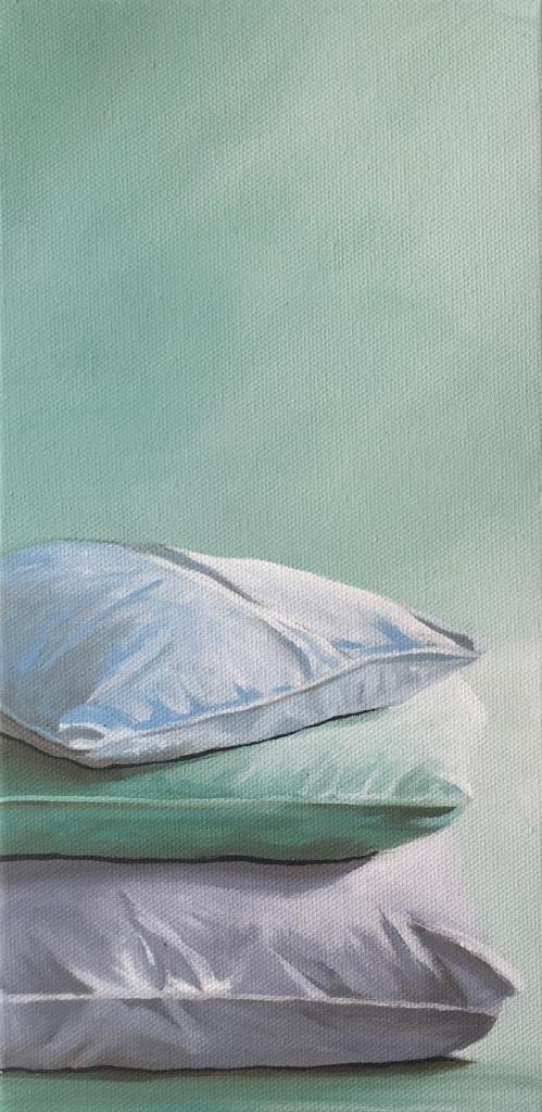 """Pillows. 6""""x12"""". $225"""