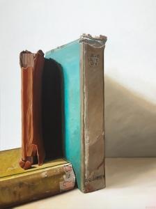 "Book Monument. 36"" x 48"". $4400"